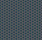 Pattern .Abstract background of three-dimensional hexagons. Geometric grid of futuristic technology Sci-Fi. Wallpapers of metal an Royalty Free Stock Photos