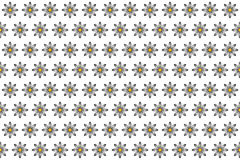 Pattern from abstract black-white flower, vector flowers background. Pattern from abstract black-white flower, petal with curl, vector flowers background Stock Images