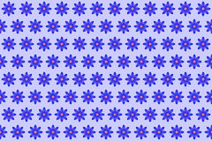 Pattern from abstract blue flower, vector flowers background. Pattern from abstract blue flower, petal with curl, vector flowers background Royalty Free Stock Photos