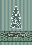 Pattern abstract christmas tree Royalty Free Stock Photo