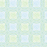 Pattern of abstract circles, vector. Seamless background pattern of abstract circles, vector Royalty Free Stock Photography