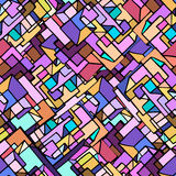 Pattern. Abstract pattern with colourfull squares Royalty Free Stock Photography