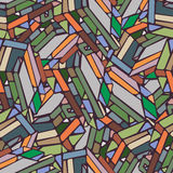 Pattern. Abstract pattern with colourfull squares Royalty Free Stock Images