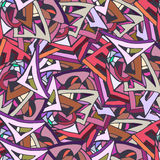 Pattern. Abstract pattern with colourfull triangles Royalty Free Stock Photos