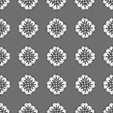 Pattern with abstract flowers Stock Images