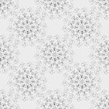 Pattern of abstract flowers Royalty Free Stock Images