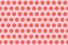 Pattern from abstract red flower, vector flowers background. Pattern from abstract red flower, petal with curl, vector flowers background stock illustration