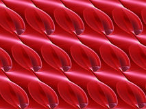 Pattern abstract shape. 3d illustration Royalty Free Stock Photo
