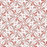 Pattern. Abstract shape seamless vector monochrome background Stock Photo