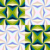 Pattern in abstract style - duotone colors Royalty Free Stock Images