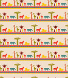 Pattern of Africa Stock Photo