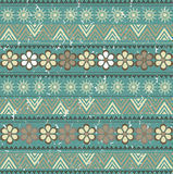 Pattern with african ornament Royalty Free Stock Photography