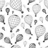 Pattern air ballon Stock Image