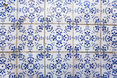 Pattern of Ancient Decorative Tiles Royalty Free Stock Photo