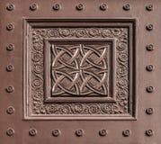 Pattern. An ancient iron gate pattern Royalty Free Stock Image