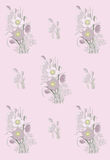 Pattern of anemone Royalty Free Stock Photos