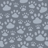 Pattern of animal tracks Royalty Free Stock Photography