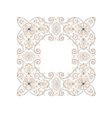 Pattern in antique byzantian style Royalty Free Stock Photos