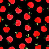 Pattern with apples. Royalty Free Stock Images