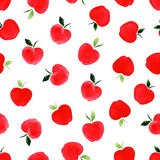 Pattern with apples. Stock Photography