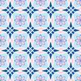 Pattern in arabic style. Abstract seamless pattern in arabic style, vector background Stock Illustration