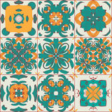 Pattern from the arabic tiles. Vector. EPS 10 stock illustration