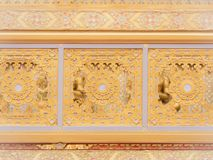 Pattern of The architecture  on The Royal Crematorium for HM Kin. G Bhumibol Adulyadej : Bangkok : Thailand - December 11,2017 Stock Image