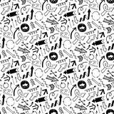 Pattern with arrows. Royalty Free Stock Image