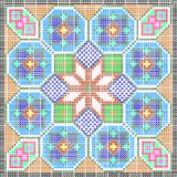 Pattern as a mosaic Royalty Free Stock Images