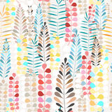 Pattern autumn leaves Royalty Free Stock Image