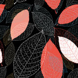 Pattern autumn leaves Royalty Free Stock Photography