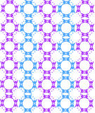 Pattern background. With blue and purple floral design Stock Photo