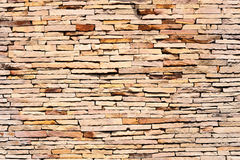 Pattern background color of crack real stone wall Royalty Free Stock Photos