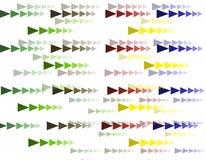 Pattern background Geometric Polygon colors. Pattern background Geometric Polygon  colors Design Royalty Free Stock Photo
