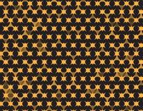Pattern Background Geometric polygon Gold yellow. Design Royalty Free Stock Image