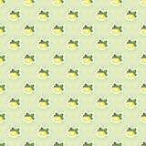 Pattern Background with Gooseberries Illustration Stock Photography