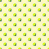 Pattern Background with Limes Illustration Stock Image