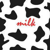 Pattern or background  for milk pack Royalty Free Stock Photo