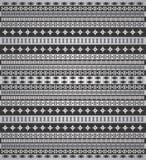 Pattern background native black Stock Photo