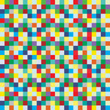 Pattern Background Of Small Colorful Boxes Stock Images