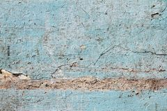 Pattern and background. Old dirty wall or grunge background. Old dirty wall or grunge background. Texture. Old Blue wall royalty free stock photo