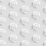 Pattern background with rose flower for greeting and wedding decoration Stock Image