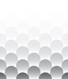 Pattern for background of rounds Royalty Free Stock Photos