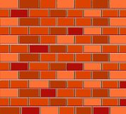 pattern background texture bricks red brown Stock Image