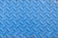 Pattern or background or texture of old blue rusty steel Royalty Free Stock Images