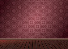 Pattern background texture with wooden floor in vintage style Royalty Free Stock Image