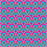 Pattern background. Vector. Vector illustration background depicting a retro circles pattern Stock Images