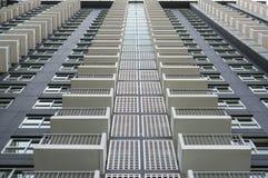 Pattern balcony of building royalty free stock photo