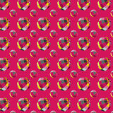 Pattern with balls. Seamless pattern with colored balls Stock Photography
