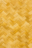 Pattern of bamboo mat. Hand craft Royalty Free Stock Photos